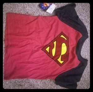 Superman shirt NWT